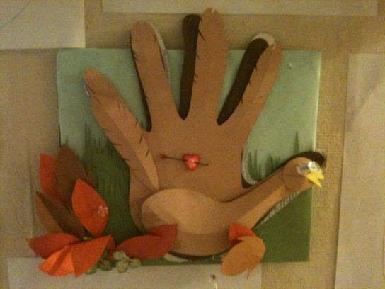 Hand Turkeys From Our Thanksgiving Show Blog Posts From